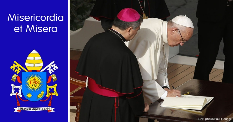 Carta Apostólica Misericordia et misera del Papa Francisco