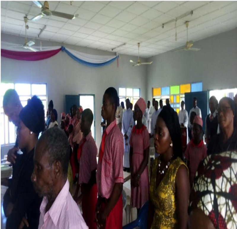 VMY Nigeria joins the Vincentian Family for the Feast of St. Vincent de Paul
