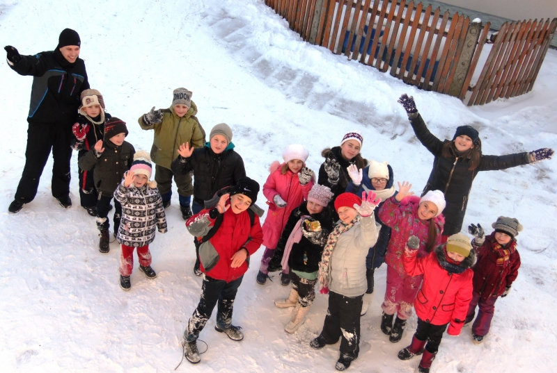 VMY Belorussia-Ukraine Celebrates Winter Together as One Family